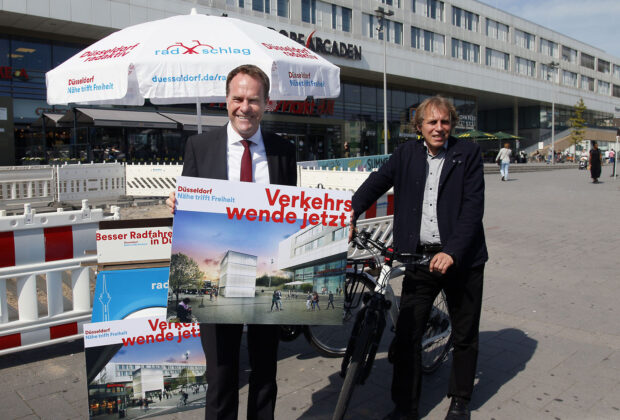 Fahrradturm Düsseldorf Bilk