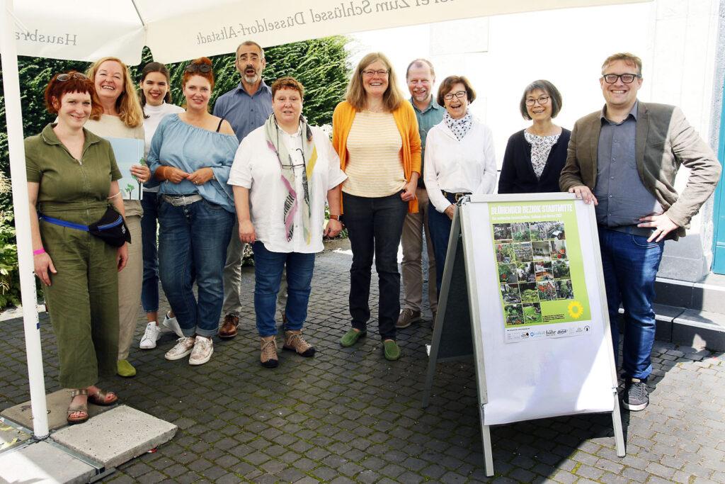 Wettbewerb Blühender Bezirk 2021