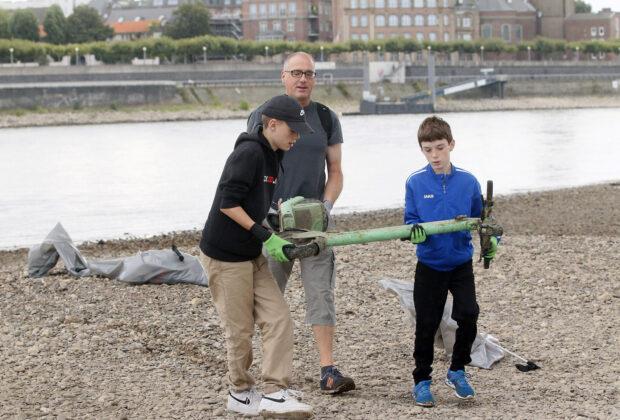 Rhine Clean Up 2021 in Düsseldorf