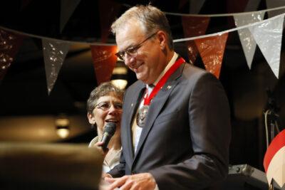 Verleihung der Karl Klinzing Plakette 2021 an Oscar Bruch jun.