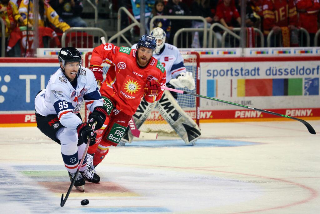 Düsseldorf DEG spiel gegen Nürnberg Ice Tigers