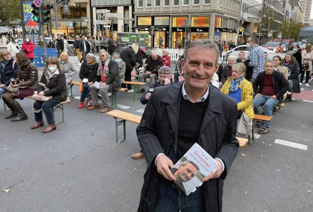 Thomas Geisel liest auf dem Bücherbummel Düsseldorf