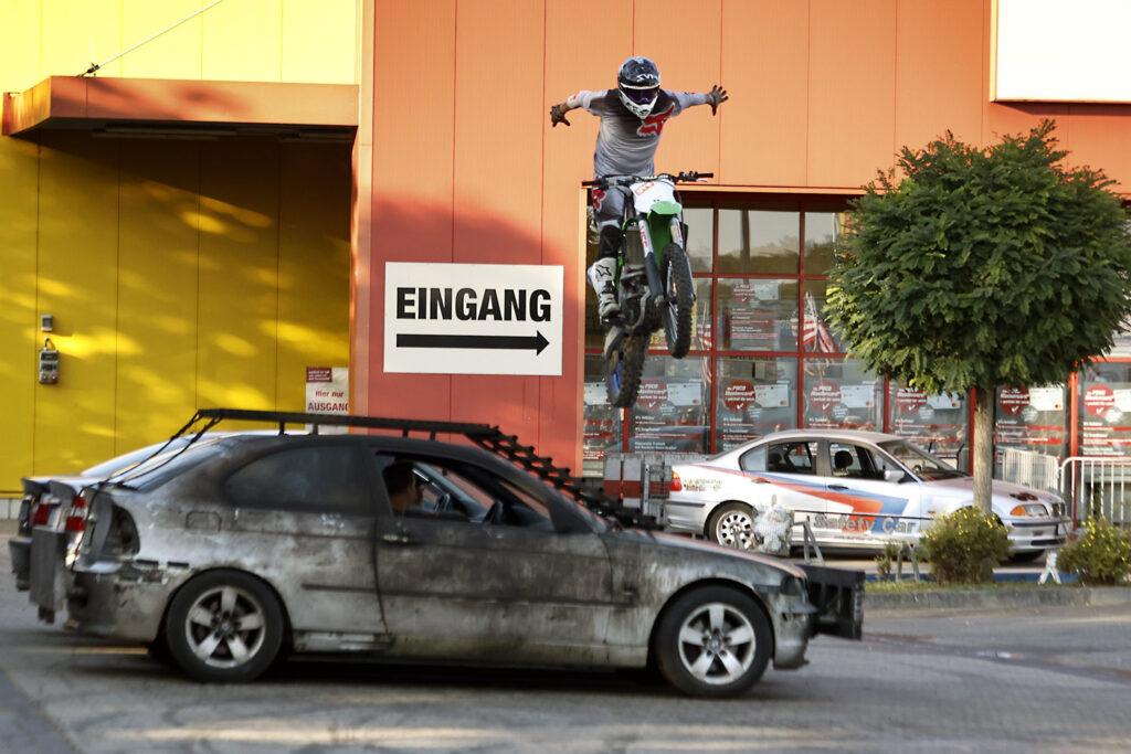 Monster Trucks und Stunt Show in Düsseldorf Benrath