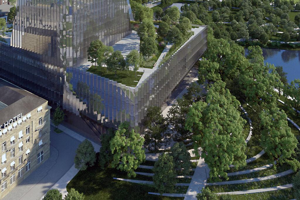 Düsseldorf plant Neubau der Oper - Entwurf Centrum